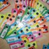 Kartičky do hry Bum – skupiny DĚ, TĚ, NĚ, BĚ, PĚ, VĚ, MĚ