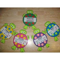 Želvičky - početní operace