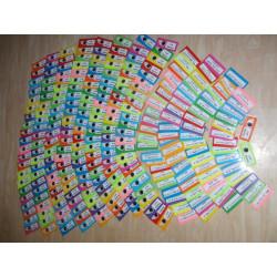 Kartičky do hry Bum - chytáky ve vyjmenovaných slovech